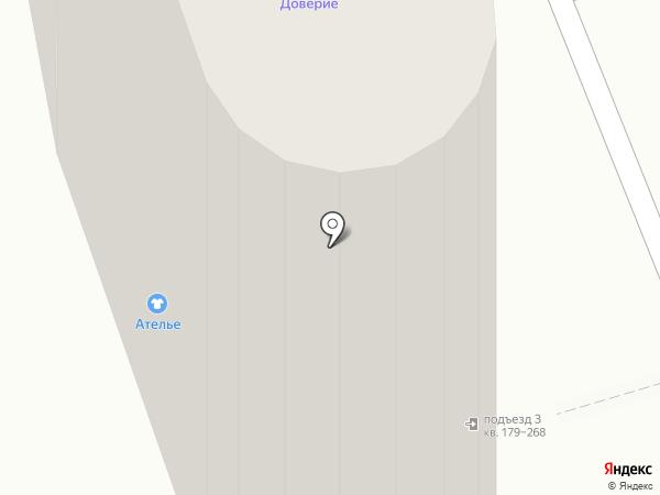 Благодар на карте Краснодара