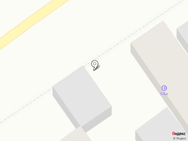 К & К на карте Краснодара