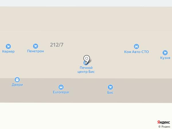 Столярыч на карте Краснодара