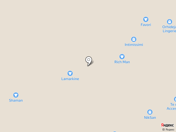 SHAMAN на карте Краснодара