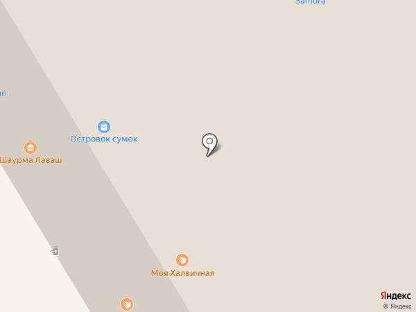 ДИКСИС на карте Краснодара