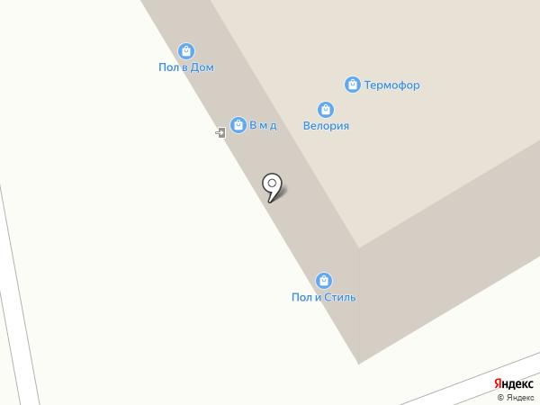 Центр Сантехники на карте Воронежа
