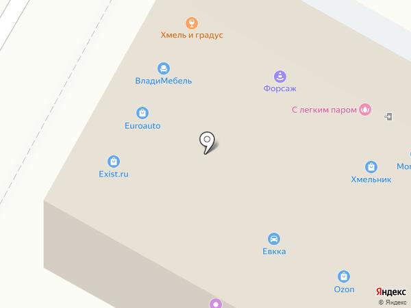 Фонбет на карте Воронежа