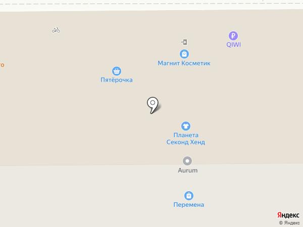 Магазин сувениров на карте Воронежа