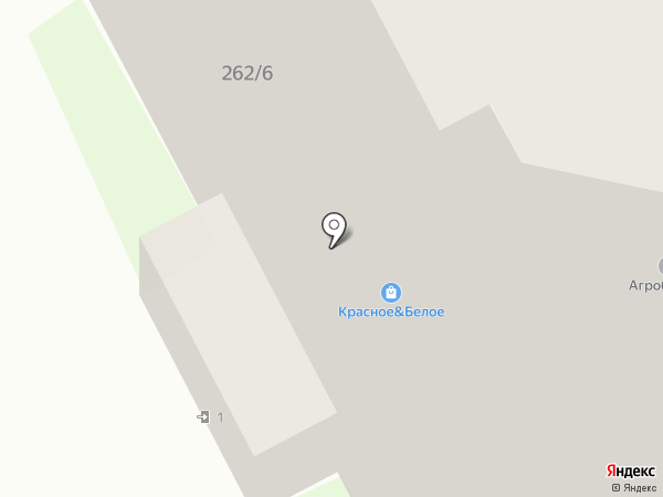 Байрос-Воронеж на карте Воронежа