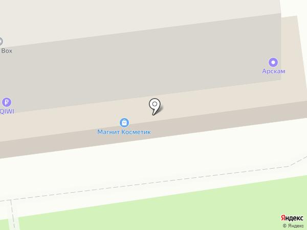 Арскам на карте Воронежа