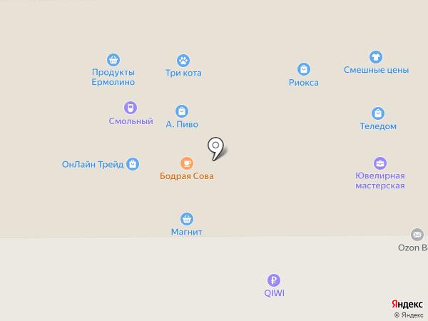 Импульс на карте Воронежа