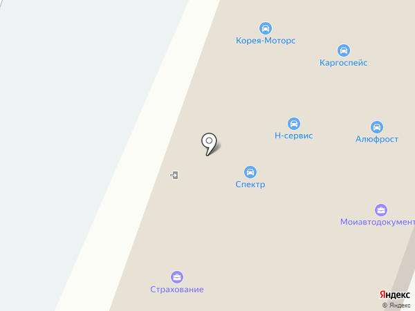 HONDAVOD на карте Воронежа