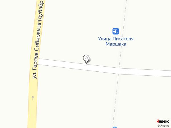 Киоск по продаже мясной продукции на карте Воронежа
