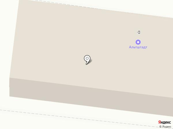 Альтштадт на карте Воронежа