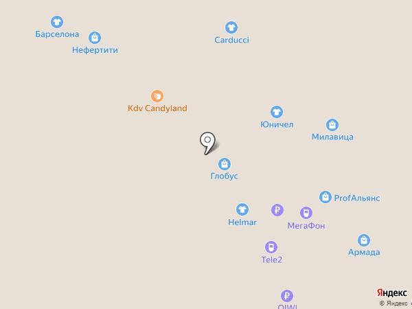 Нефертити на карте Воронежа