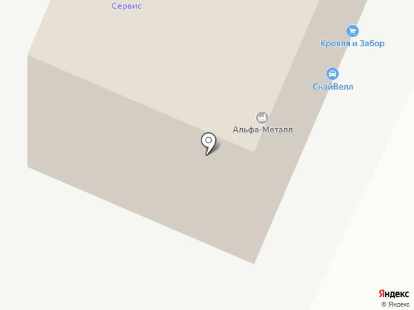 ЭКВИЗОЛ на карте Воронежа
