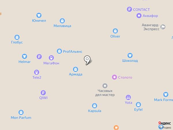 Shop`en на карте Воронежа