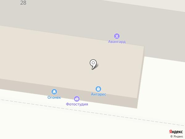 Вита-Экспресс на карте Воронежа