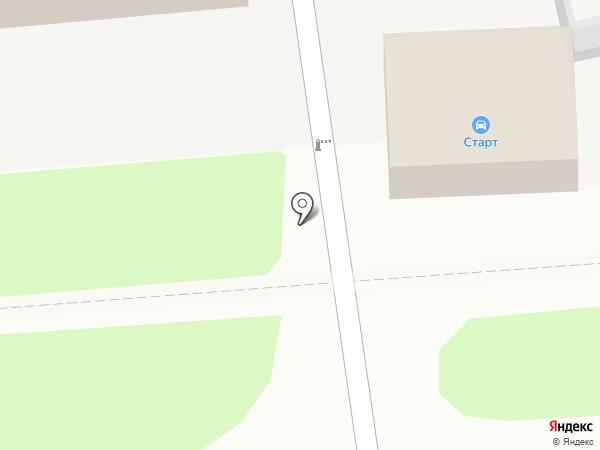 Старт на карте Воронежа