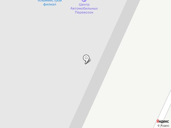 Алюминстрой на карте Воронежа