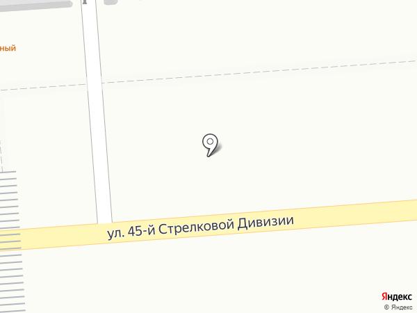Киоск фастфудной продукции на карте Воронежа