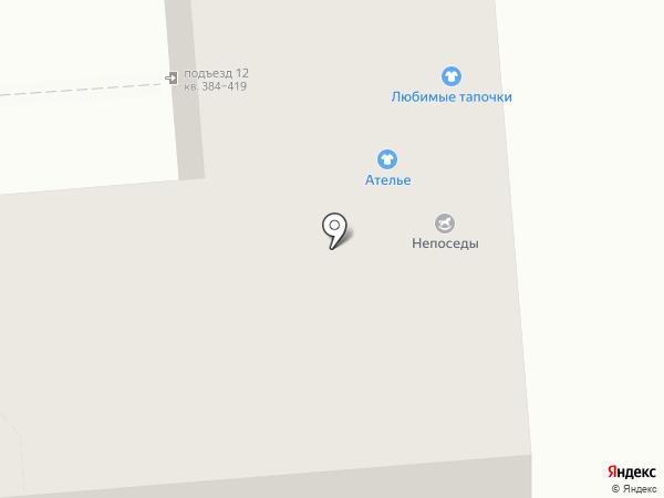 Ежевика на карте Воронежа