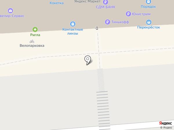 Магазин печатной продукции на карте Воронежа
