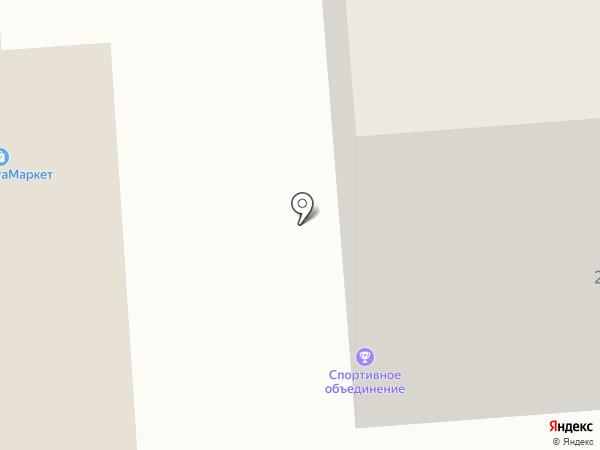 СДЮСШОР №18 по спортивному ориентированию на карте Воронежа