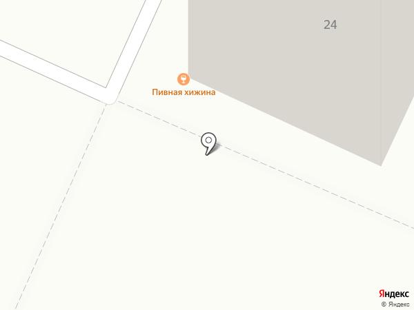 Пивная хижина на карте Воронежа