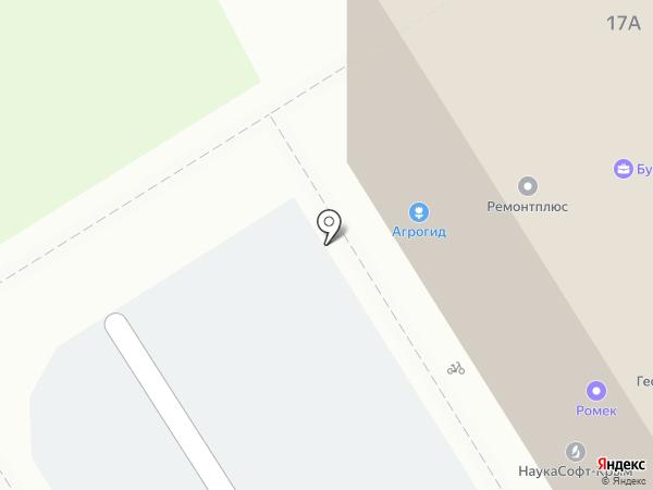 Лига Ставок на карте Воронежа