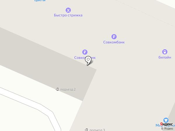 Магазин по продаже мясной и рыбной продукции на карте Воронежа