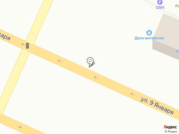 Киоск по продаже кондитерских изделий на карте Воронежа