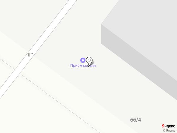 Маталл на карте Воронежа
