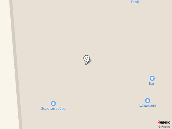 Зодиак на карте Воронежа