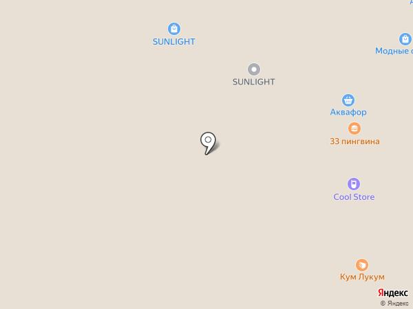 Точка продажи кофе на вынос на карте Воронежа
