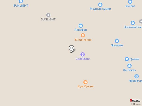 Conbez на карте Воронежа