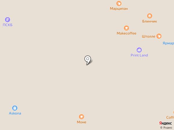 Блинчик на карте Воронежа
