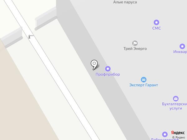 Милк на карте Воронежа