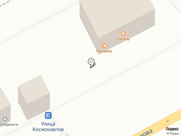 Магазин колбасных изделий на карте Воронежа