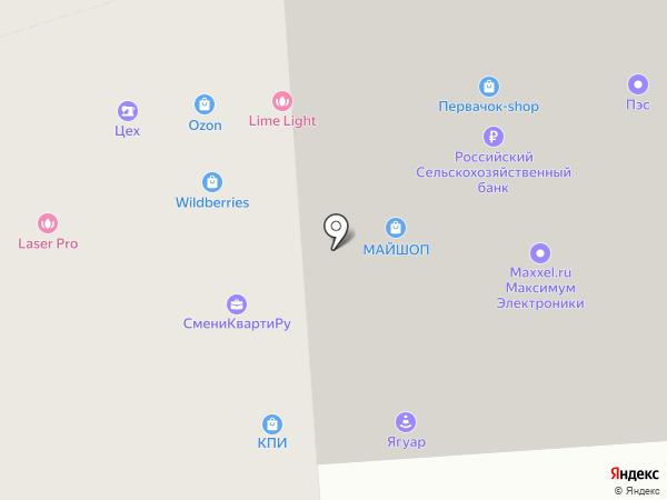OZON.ru на карте Воронежа