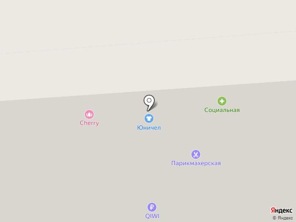 Магазин мебели на карте Воронежа