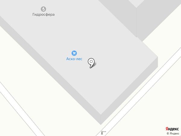 АСКО-ЛЕС на карте Воронежа