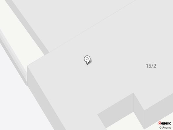 Восток-1 на карте Воронежа