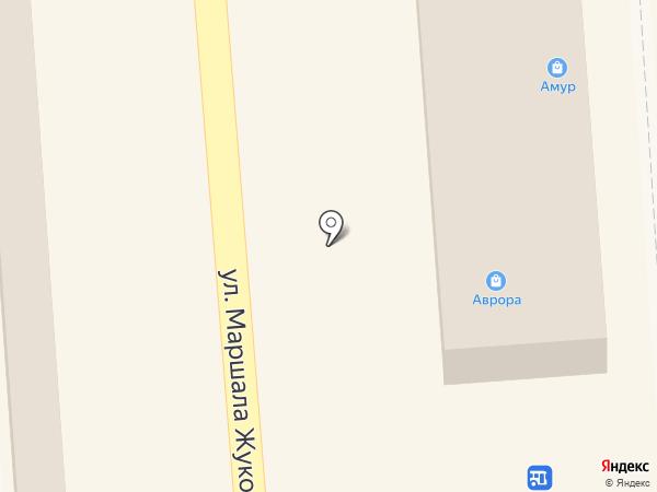 Тако шашлык на карте Воронежа