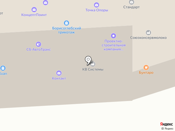 КВ Системы на карте Воронежа