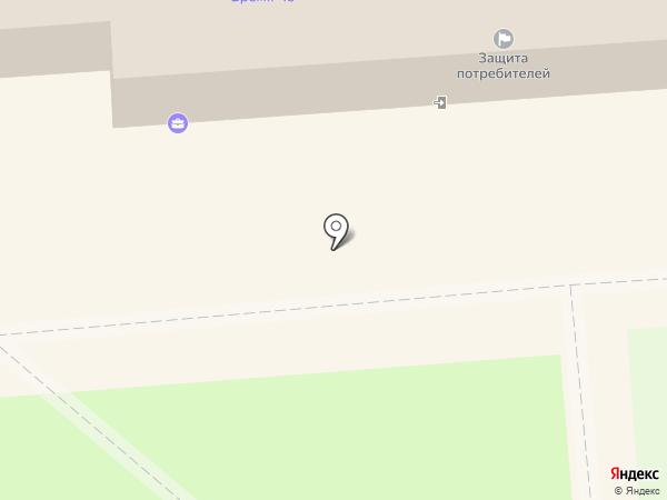 Арго на карте Воронежа