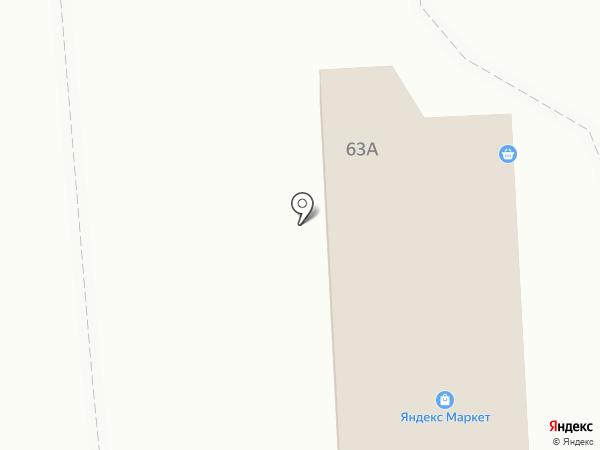 Шашлычный домик на карте Воронежа