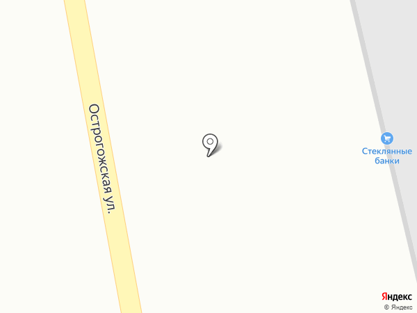 Инокспоинт Групп на карте Воронежа