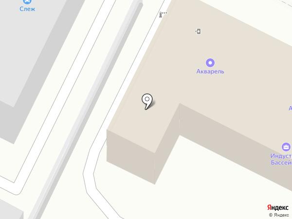 Мит на карте Воронежа