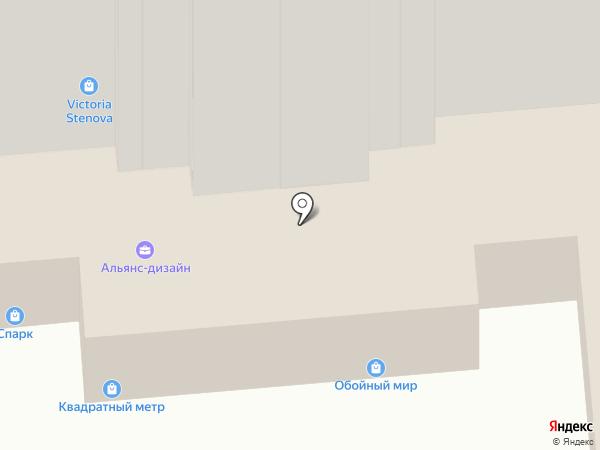 Салон элитных дверей на карте Воронежа