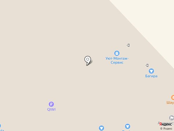 Ivagio на карте Воронежа