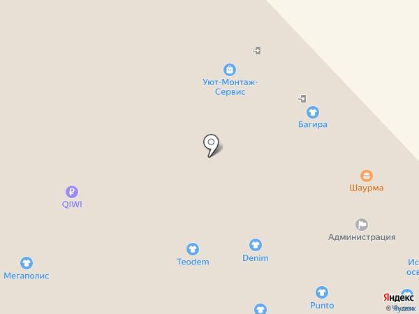 На ходу на карте Воронежа