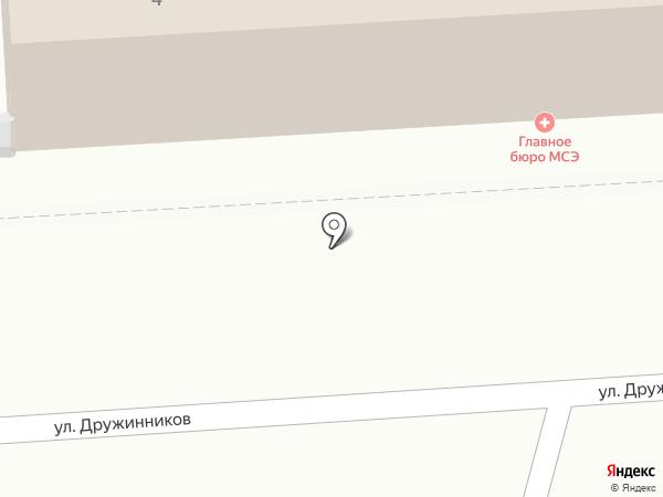 Главное бюро медико-социальной экспертизы по Воронежской области на карте Воронежа