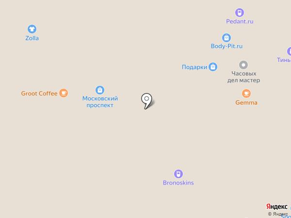 Часовых дел мастер на карте Воронежа